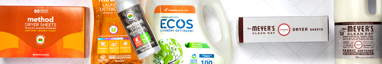 Laundry Detergent & Products